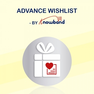 Magento Advance Wishlist Extension by Knowband