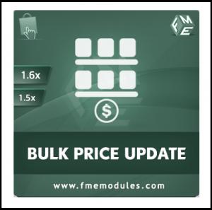 FME's Mass Price Update Module for PrestaShop
