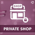 PrestaShop Private Shop Module for B2B Business